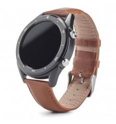 Smartwatch con correa de cuero personalizado Color Marrón