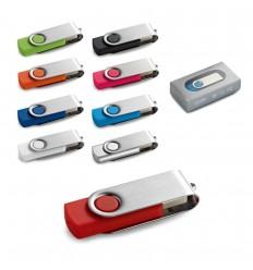Memoria USB de 8GB Claus publicitaria
