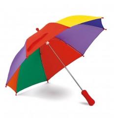 Paraguas colorido de poliéster personalizado Color Multicolor