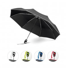 Paraguas plegable automático de poliéster publicitario