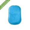 Hojas de jabón con estuche para empresas Color Azul Transparente