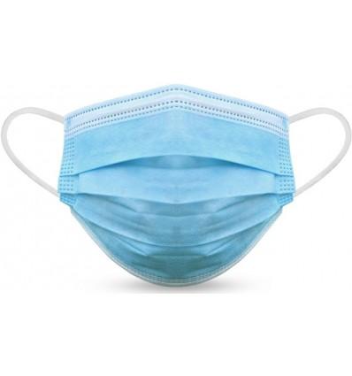 Mascarilla desechable higiénica homologada para empresas Color Azul Claro