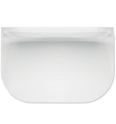 Pantalla facial con cinta ajustable personalizada Color Blanco