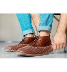 Cubre zapatos desechables para empresas Color Transparente