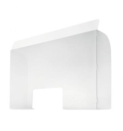 Mampara de protección con soporte personalizada Color Transparente