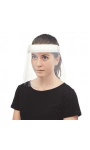Pantalla facial con cinta ajustable