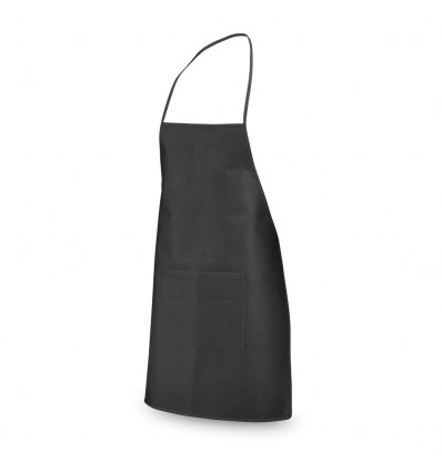 Delantal Non-Woven personalizado Color Negro