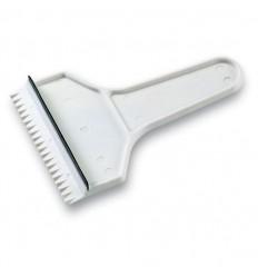 Rascador de Hielo con Barredora personalizado Color Blanco