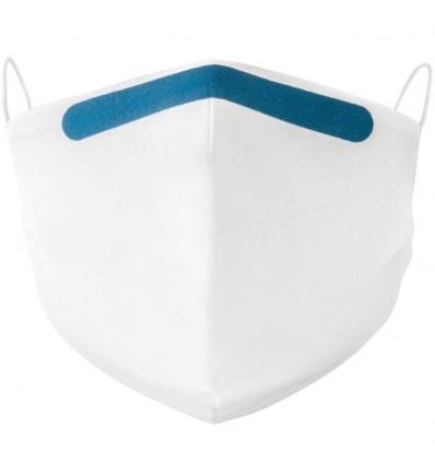 Mascarilla personalizada de algodón para empresas Color Azul