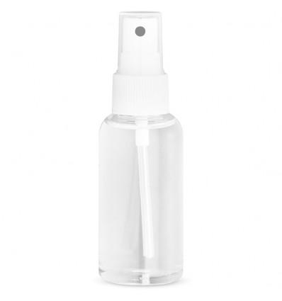 Gel desinfectante de manos con spray de 50ml personalizado Color Blanco