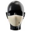 Mascarilla reutilizable personalizada por sublimación Color Blanco Crema