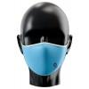 Mascarilla reutilizable personalizada por sublimación Color Azul Celeste