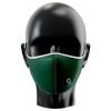Mascarilla reutilizable personalizada por sublimación Color Verde Botella