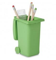 Porta Bolígrafos con Forma de Cubo de Basura Publicitario