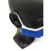 Mascarilla reutilizable personalizada por sublimación - Vista Real Lateral