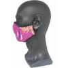 Mascarilla personalizada por sublimación completa - Vista Real de Perfil