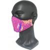 Mascarilla personalizada por sublimación completa Vista Real Frontal