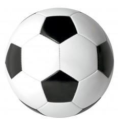 Balón de Fútbol Promocional de PVC personalizado Color Blanco/Negro