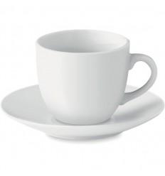 Taza cerámica para café personalizada Color Blanco
