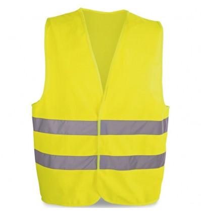 Chaleco Reflectante de Clase 2 personalizado Color Amarillo