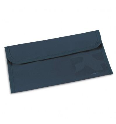 Portadocumentos de Viaje con Compartimentos personalizado Color Azul