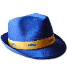 Sombrero de Polipropileno estilo Tirolés para merchandising Color Azul Claro
