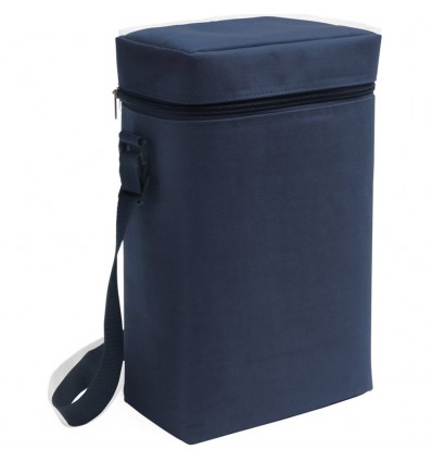 Bolsa Nevera para 2 Botellas personalizada Color Azul