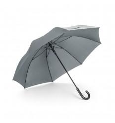Paraguas anti viento de poliéster publicitario Color Gris
