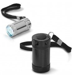 Linterna de Aluminio con 6 LEDs personalizada