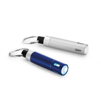 Llavero de Aluminio y ABS con Linterna Merchandising