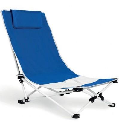 Silla Plegable de Playa personalizada Color Azul