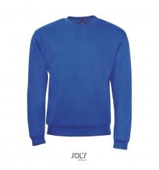 Sudadera de algodón y poliéster Sol's Spider 260 merchandising Color Azul Royal Vista Frontal