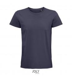 Camiseta de algodón punto liso Sol's Pioneer 175 promocional Color Gris Ratón Vista Frontal