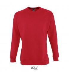 Sudadera con felpa perchada Sol's New Supreme 280 merchandising Color Rojo Vista Frontal