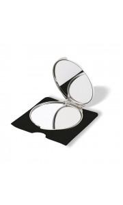 Espejo Doble de Maquillaje de Aluminio
