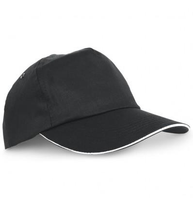 Gorra de Béisbol Sándwich personalizada Color Negro