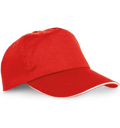 Gorra de Béisbol Sándwich promocional Color Rojo