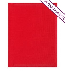 Agenda wire'o con Funda 2022 Trek Dia B5 Personalizada Color Rojo