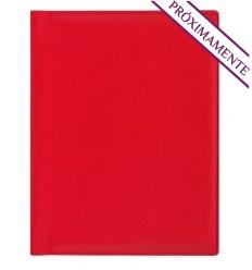 Agenda publicitaria wire'o 2022 Trek Semana B5 personalizada Color Rojo