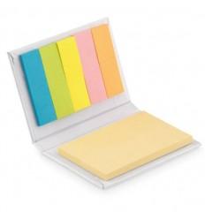 Estuche de Bloc de Notas Pequeño personalizado Color Blanco