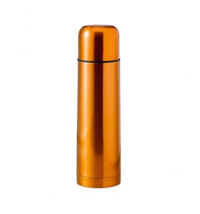 Termo de Acero de Doble Pared personalizado Color Naranja