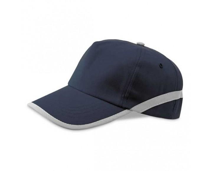 ... Gorra de Béisbol con Cinta Reflectante Personalizada Color Azul ... 829ac181fc3