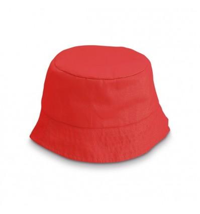 Gorro Bob para Niños Personalizado Color Rojo