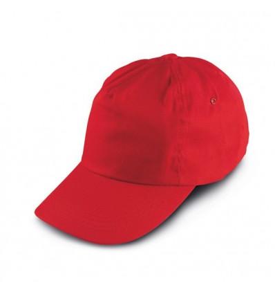 Gorra de Béisbol para Niños Personalizada Color Rojo