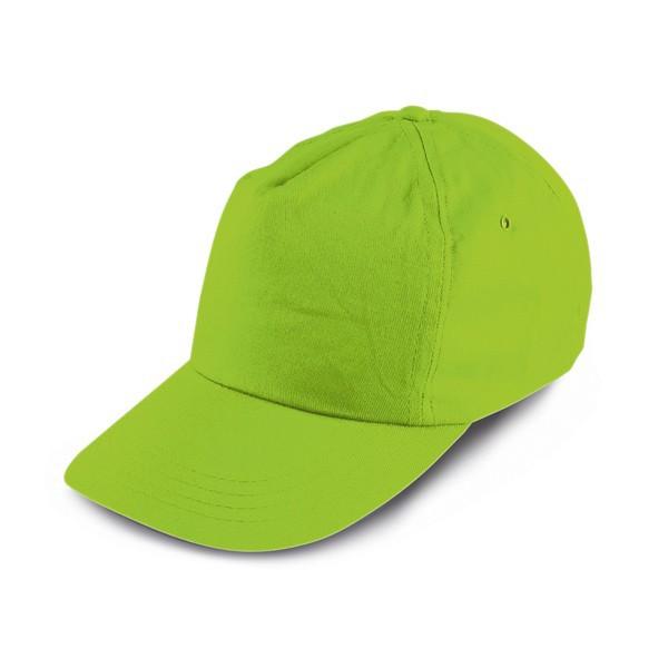 Gorra de Béisbol para Niños Empresa Color Verde Claro e6cb8a19362
