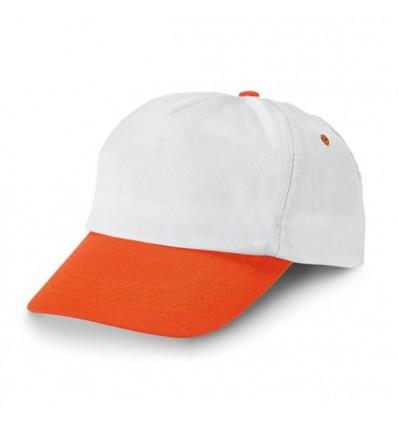 Gorra ajustable con Velcro Promocional Color Naranja