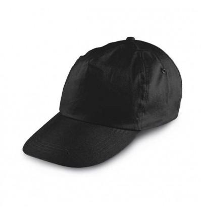 Gorra Publicitaria Béisbol para Eventos Promocionales Color Negro