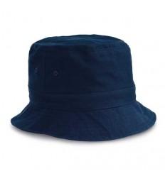 Gorro Bob de Lona Promocional Color Azul