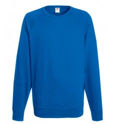 Sudadera Raglan Ligera Barata Color Azul Royal