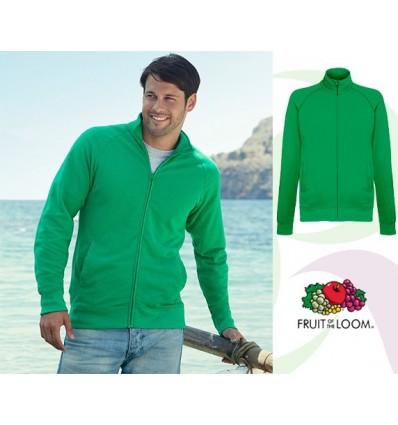 Sudadera Chaqueta Ligera para Campañas Publicitarias Color Verde Kelly